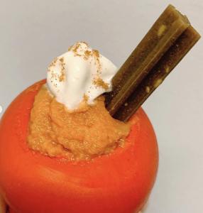 KONG dog toy pumpkin spice filling